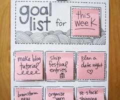goal list